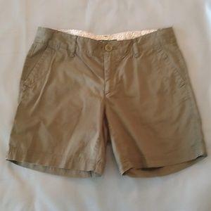 Eddie Bauer olive green shorts